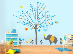 Nursery Theme Wall Art Decal - Extra Large Tree