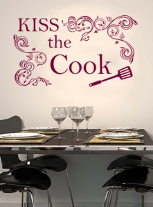 Dining corner in modern minimalist appartment