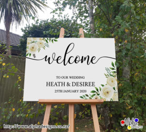 Wedding welcome decal for mirror, Celabration decoration sign, Vinyl graphic personalised sticker, Party event wall decals, Wedding event signs, Birthday party signs, Customized name decal, Business signs, Personalized decal, Baby shower sign, Poster printing